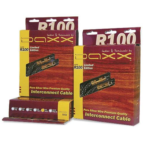 DAXX R100 Аудио кабель с серебренными жилами класса High End Limited Edition