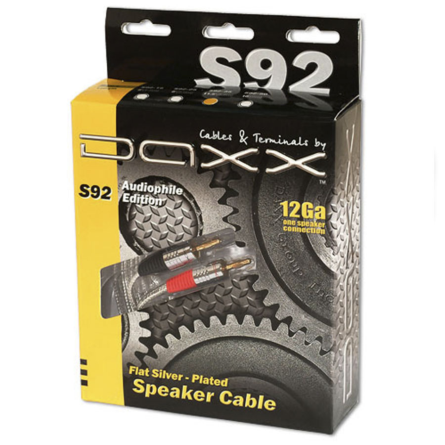 Плоский акустический кабель c посеребренными жилами DAXX S94 и S92 екатеринбург