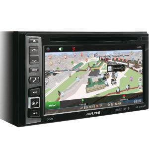 Мультимедийный центр с GPS-навигацией и Bluetooth Alpine INE-W990BT Navitel