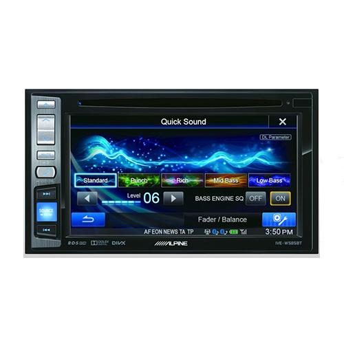 Мультимедийный центр с Bluetooth Alpine IVE-W585BT