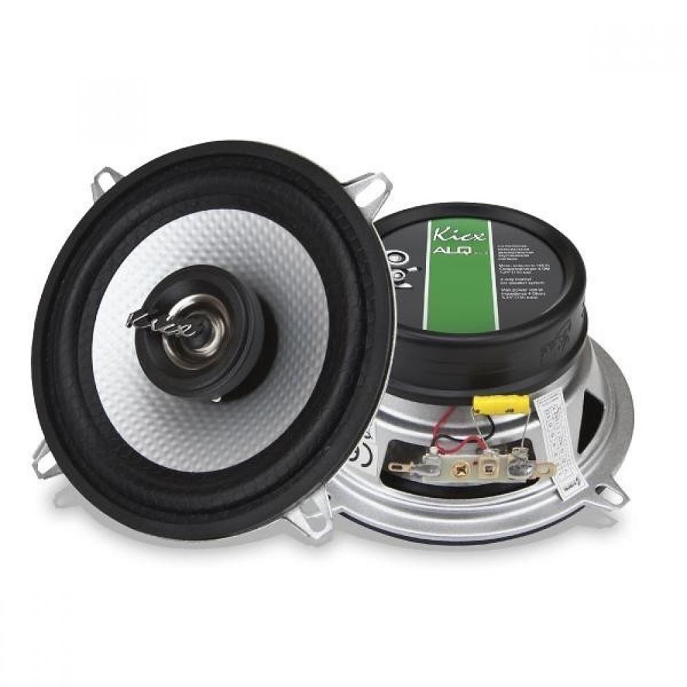 2-х полосные коаксиальные аудиосистемы Kicx ALQ-502 с диффузором из чистого профилированного алюминия.