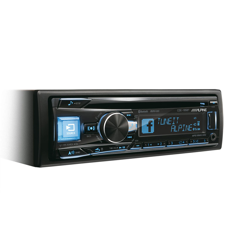 CD-ресивер со встроенной системой BLUETOOTH® - Alpine CDE-195BT